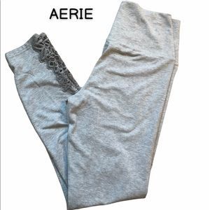 AERIE lace ankle leggings